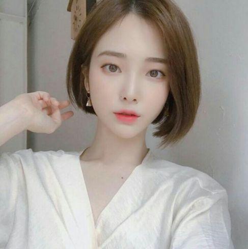 Hình ảnh tóc ngắn uốn cụp Hàn Quốc đẹp nhất hiện nay
