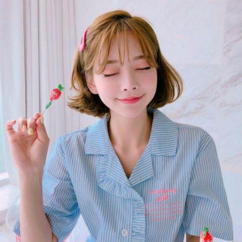 Kiểu tóc mái thưa phong cách Hàn Quốc giúp phái nữ tôn vinh nhan sắc - Hình ảnh số 2