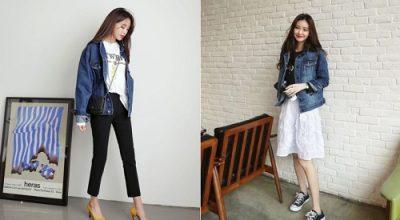 Các kiểu áo khoác jean nữ đẹp nhất trong năm 2020