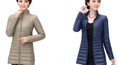 Kiểu áo khoác phao nữ lông vũ đẹp 2020 phong cách Hàn Quốc