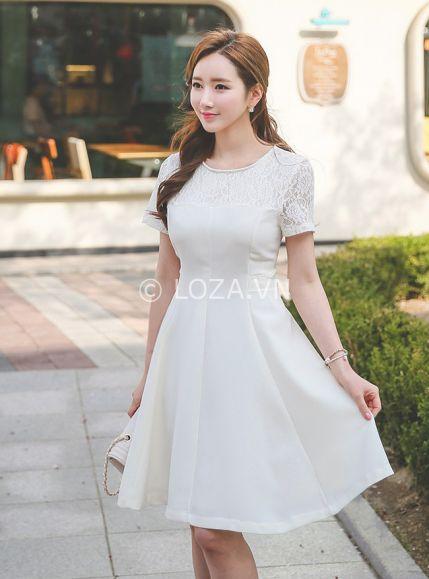 Xu hướng thời trang Đầm Màu trắng đẹp nhất hiện nay - Hình 1