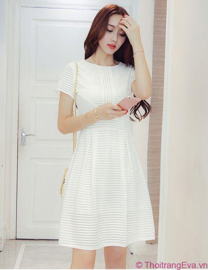 Xu hướng thời trang Đầm Màu trắng đẹp nhất hiện nay - Hình 2
