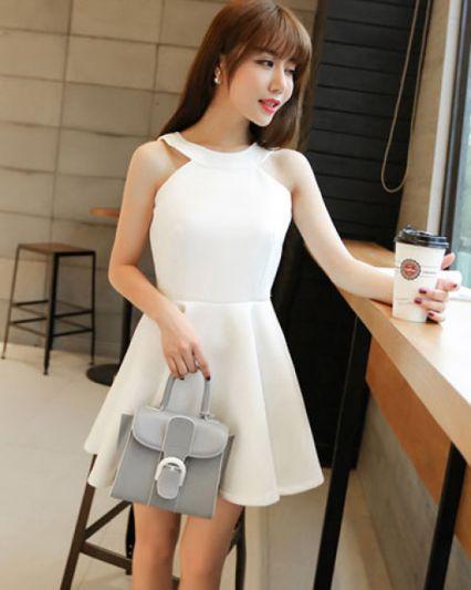 Xu hướng thời trang Đầm Màu trắng đẹp nhất hiện nay - Hình 4