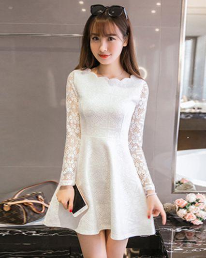Xu hướng thời trang Đầm Màu trắng đẹp nhất hiện nay - Hình 5