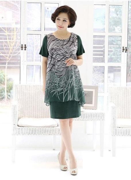 Xu hướng thời trang đầm công sở phù hợp dành cho cho tuổi 40 - Mẫu 3
