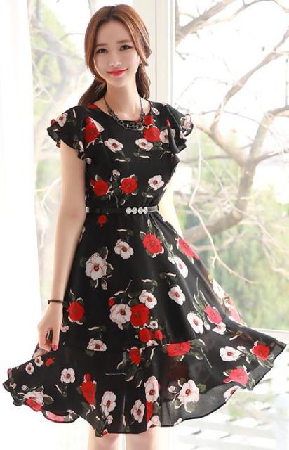 Xu hướng thời trang Váy liền thân dáng dài đẹp - hình 3