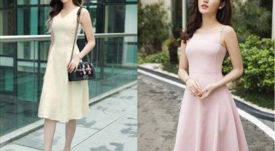 Các kiểu váy đầm liền thân dành cho nàng công sở đẹp nhất hiện nay