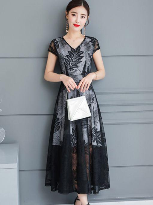 Xu hướng thời trang mẫu đầm dự tiệc dáng dài đẹp nhất