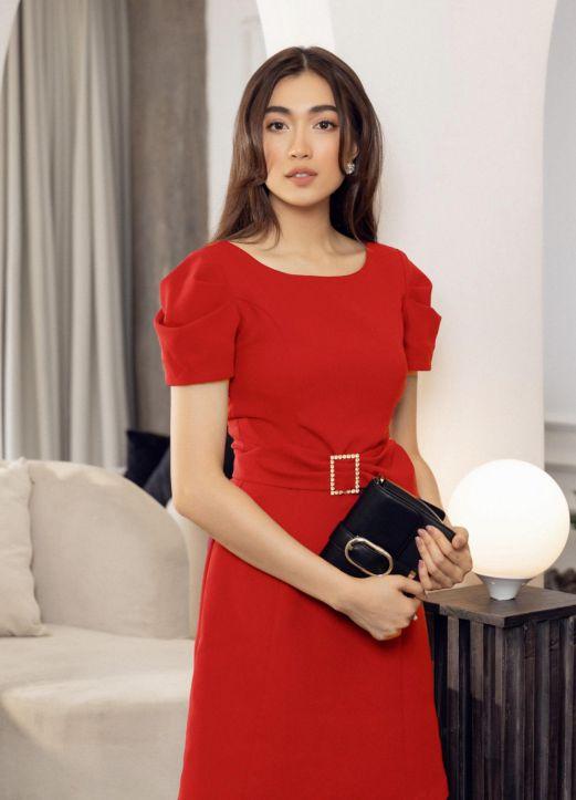 Xu hướng thời trang mẫu đầm dự tiệc màu đỏ đẹp nhất