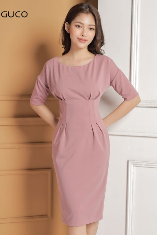 Xu hướng thời trang mẫu đầm dự tiệc màu hồng đẹp nhất