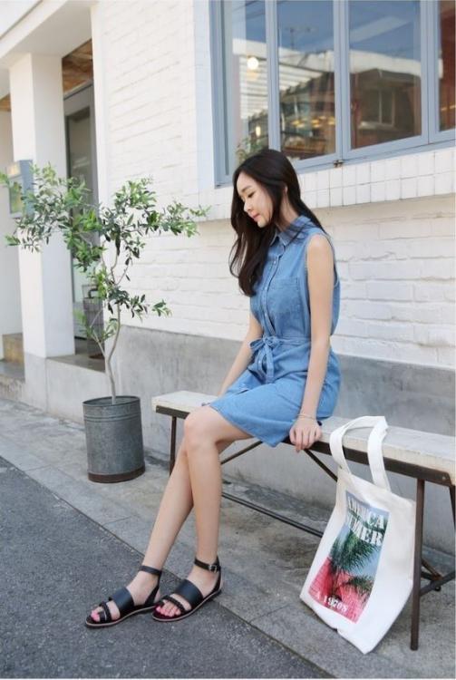 Váy đầm xinh tự tin dạo phố - Hình 14