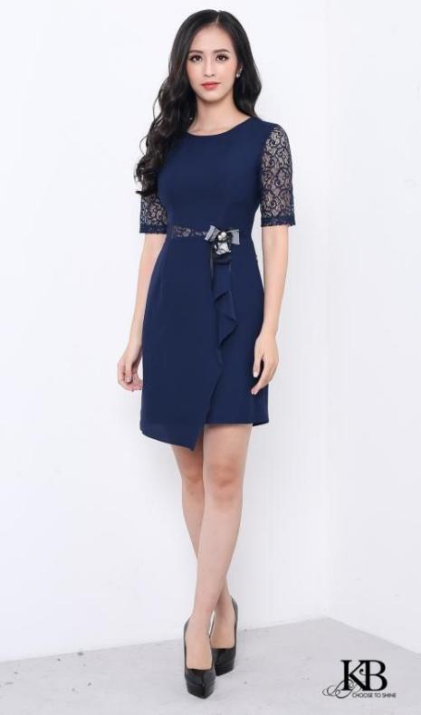 Tuyển chọn những mẫu váy đầm suông công sở tuổi trung niên
