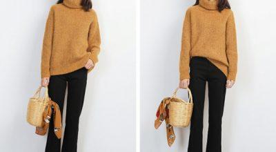 Những chiếc áo len nữ form rộng dáng dài đẹp thu đông 2020