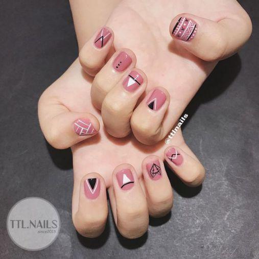 Xu hướng thiết kế mẫu nail xinh đẹp dành cho móng ngắn - Hình 1