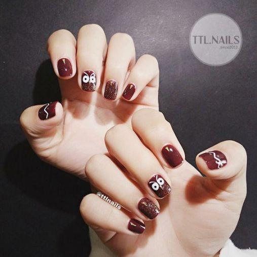 Xu hướng thiết kế mẫu nail xinh đẹp dành cho móng ngắn - Hình 2