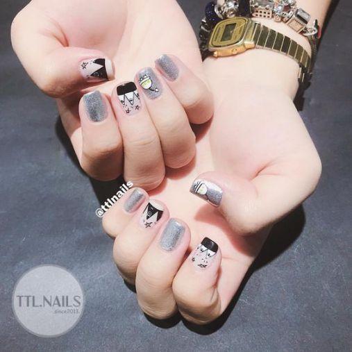 Xu hướng thiết kế mẫu nail xinh đẹp dành cho móng ngắn - Hình 3