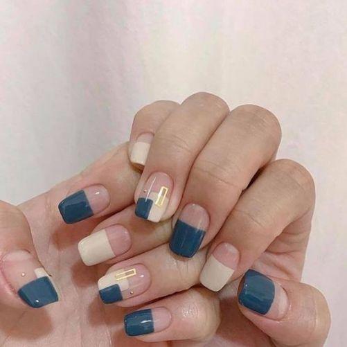 Những mẫu nail xinh đơn giản mà đẹp - Hình 1