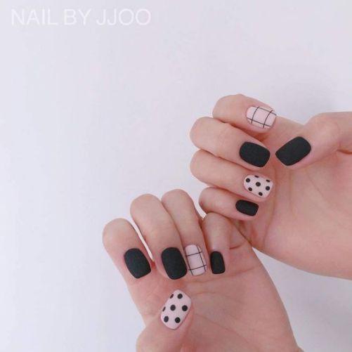Những mẫu nail xinh đơn giản mà đẹp - Hình 10
