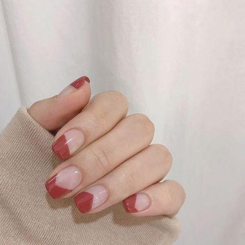 Những mẫu nail xinh đơn giản mà đẹp - Hình 2