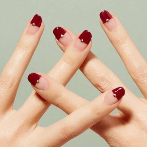 Những mẫu nail xinh đơn giản mà đẹp - Hình 5