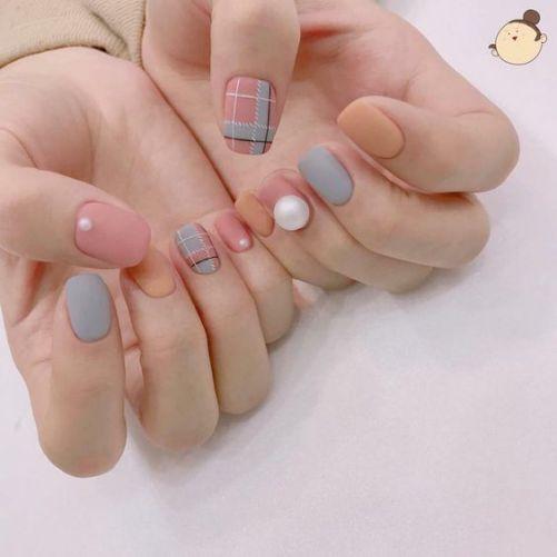 Những mẫu nail xinh đơn giản mà đẹp - Hình 6
