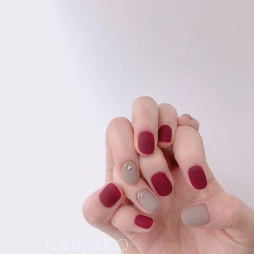 Những mẫu nail xinh đơn giản mà đẹp - Hình 7