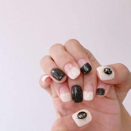 Những mẫu nail xinh đơn giản mà đẹp - Hình 8