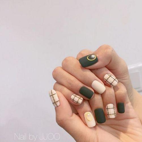 Những mẫu nail xinh đơn giản mà đẹp - Hình 9