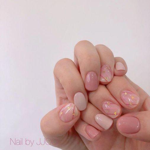 Tổng hợp các mẫu nail xinh màu hồng tươi mới - Hình 3