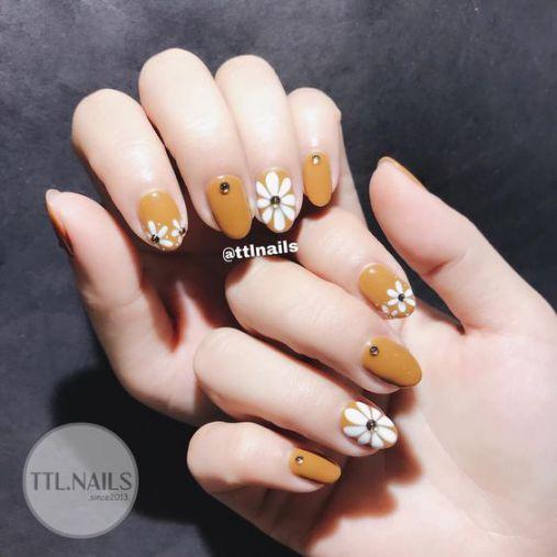 BST các mẫu nail xinh màu vàng hot nhất hiện nay - Hình 3
