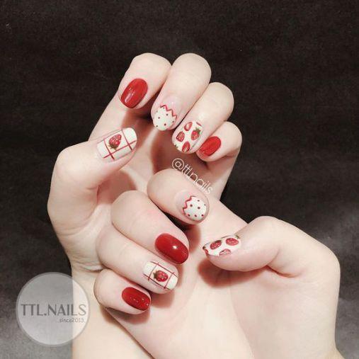 Bộ móng nail xinh dành cho mùa hè - Hình 3