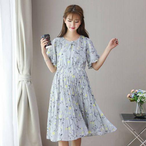 Những mẫu váy đầm voan dành cho bà bầu