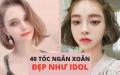 40 KIỂU TÓC NGẮN XOĂN ĐẸP NHẤT 2020 (chuẩn idol)