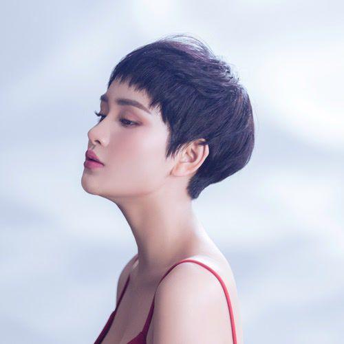 Thời trang tóc ngắn của hiền hồ đẹp cho nữ