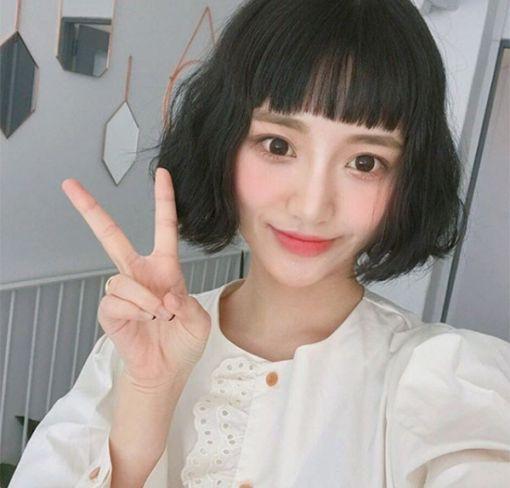 Thời trang tóc ngắn mái ngố đẹp cho nữ