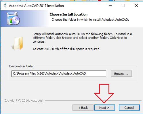 Hướng dẫn cài cài đặt phần mềm autocad 2017 đơn giản - 02
