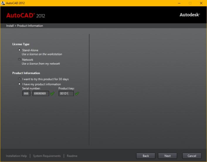 Hướng dẫn cài đặt phần mềm autocad 2012 miễn phí - Hình 4