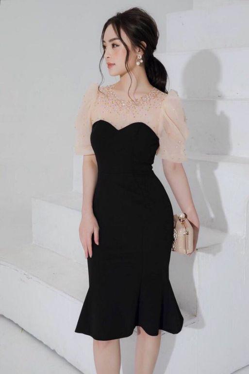 Thiết kế thời trang mẫu váy đầm dự tiệc ôm body đẹp - Hình 1