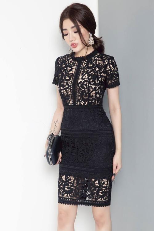 Thiết kế thời trang mẫu váy đầm dự tiệc ôm body đẹp - Hình 5