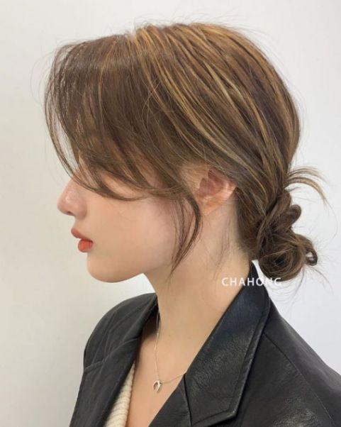 Tiết lộ cho bạn những tóc ngắn buộc búi đẹp mê mẩn, không bao giờ lỗi xu hướng - Hình ảnh số 1
