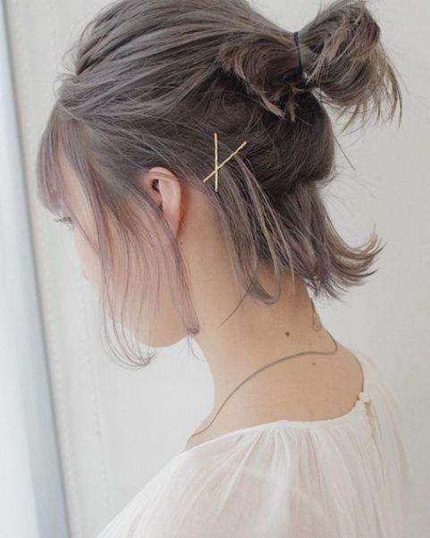 Bí quyết giúp chị em thay đổi diện mạo qua mái tóc ngắn buộc cao đẹp thời thượng - Hình ảnh số 1