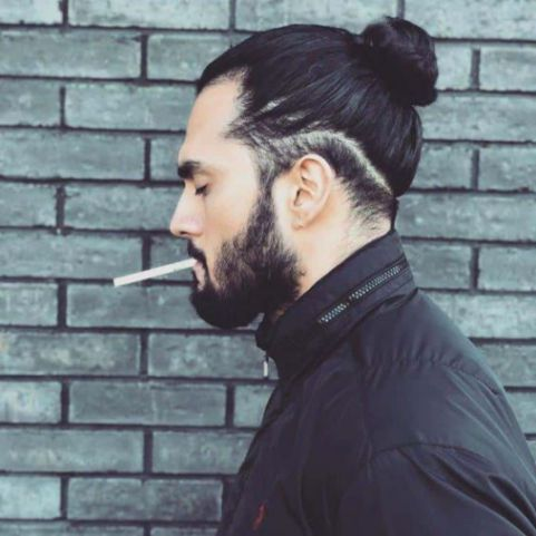 Xu hướng tóc undercut búi cao, cột búi cho nam gây nhiều cơn số trên thế giới khiến nhiều phái nữ mê ly - Hình ảnh số 1