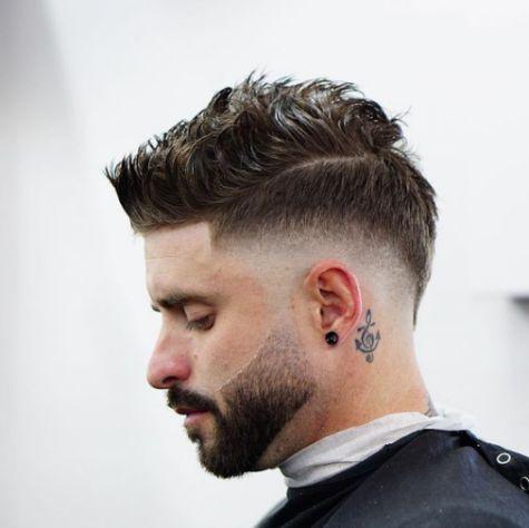 Phong cách tóc sport quiff đẹp cho nam mang lại sự gọn gàng, mạnh mẽ - Hình ảnh số 4