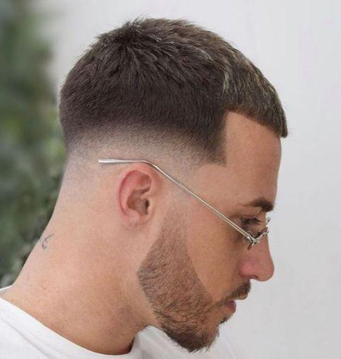Phong cách tóc 3 phân quân đội ngắn thể hiện sự mạnh mẽ cánh mày râu nam giới - Hình ảnh số 2