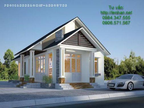 Nhà cấp 4 phong cách hiện đại tối ưu công năng trên khu đất diện tích nhỏ xinh